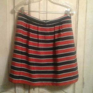 J Crew- lined skirt w/pockets! Size 6